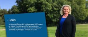 Vil du gerne vide mere om vores klinisk neurocoach Joan